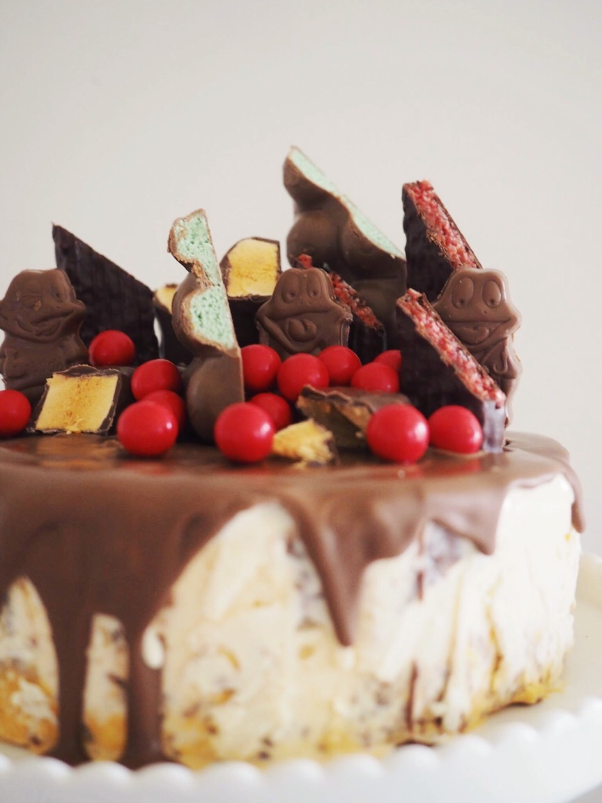 Tim Tam Ice Cream Cake