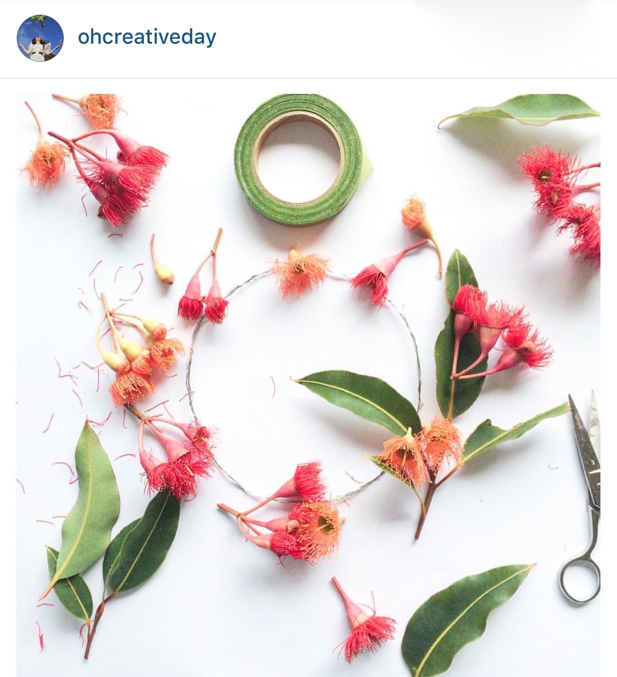 photography in Instagram - Flat Lay
