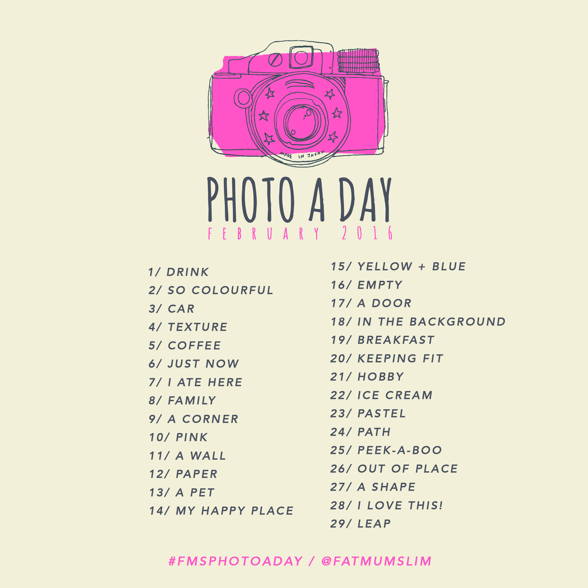 Photo A Day Challenge // February 2016