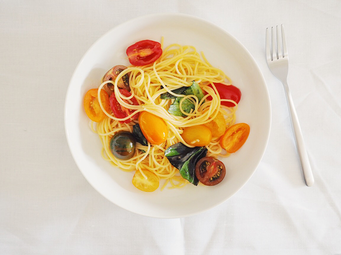 Simple Summer Spaghetti Recipe - Fat Mum Slim