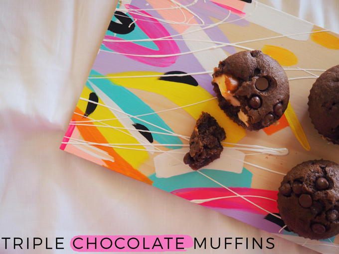 After school treat: Triple chocolate muffins recipe