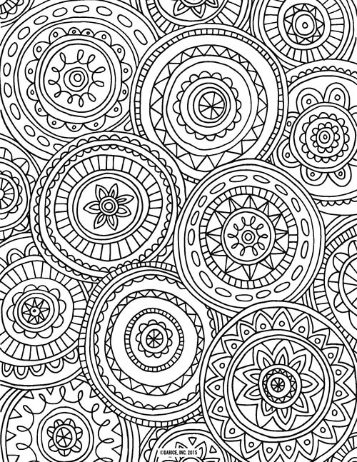 19 of the best adult colouring pages free printables for everyone - Colouring In Patterns
