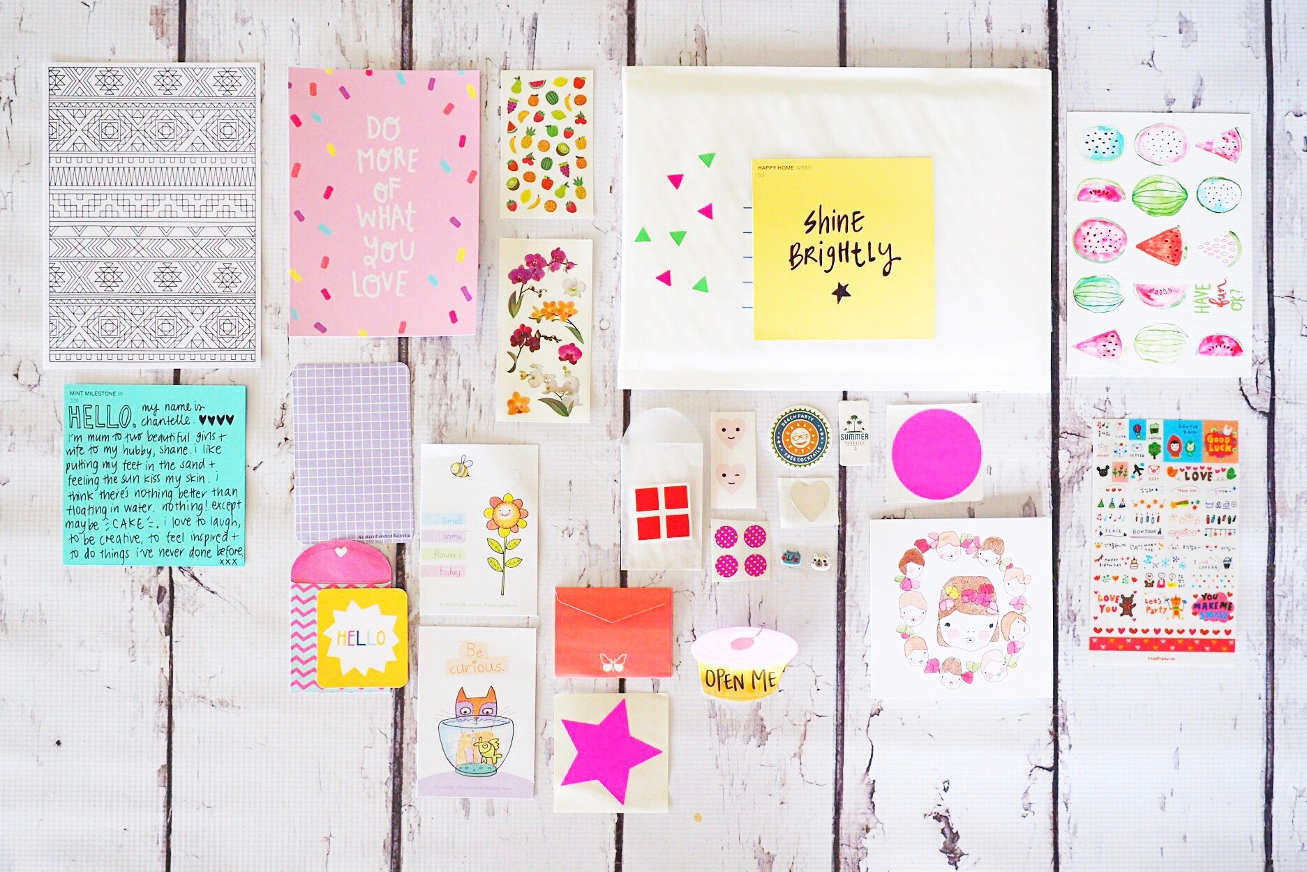 What to send in your Happy Mail {where to shop!}