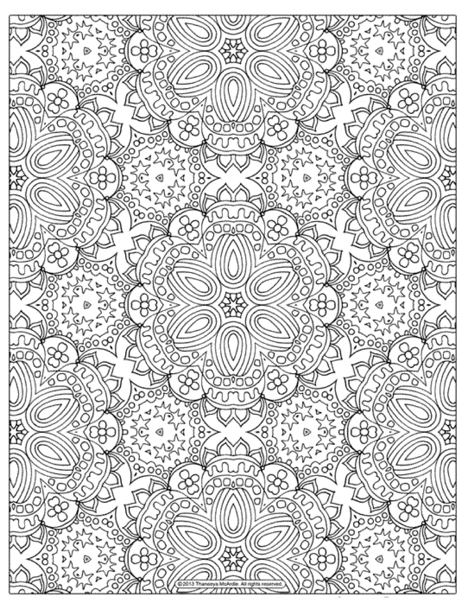 19 of the Best Adult Colouring Pages {Free Printables for everyone!} - Fat  Mum Slim