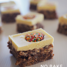 No-Bake Coco Pops Slice Recipe
