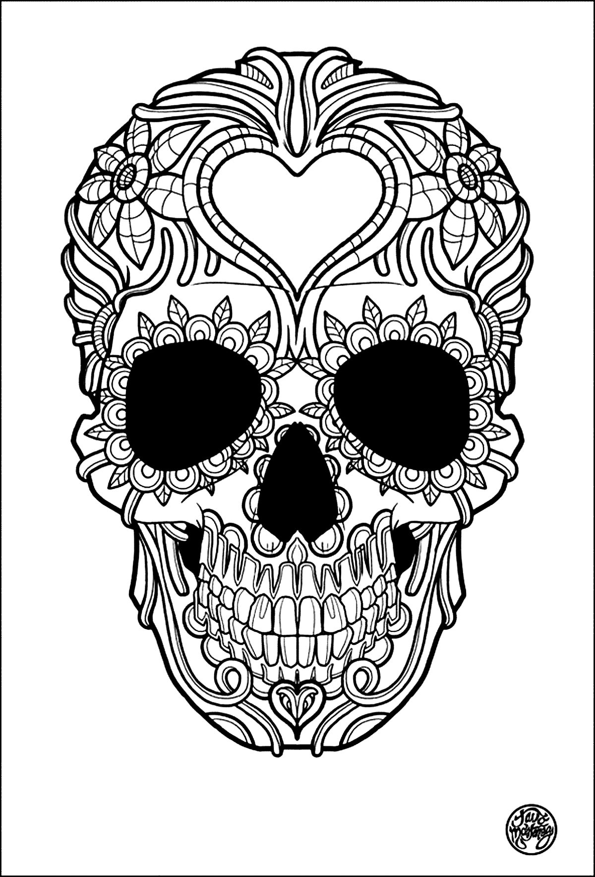19 of the best adult colouring pages free printables for everyone - Coloring Book Pages For Adults 2