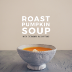 Roast Pumpkin Soup {with Thermomix instructions}