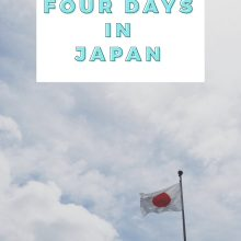 Four Days In Japan