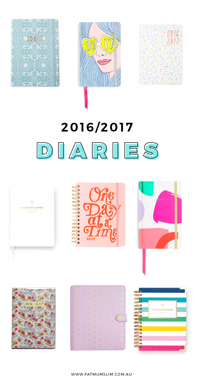 Hello stationery lover! Is it time for a new diary? I think so! I've rounded up the most beautiful diaries for 2016/2017. You'll be stylishly organised in no time!