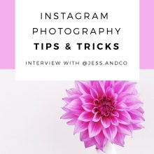 Instagram Photography Tips & Tricks: @jess.andco