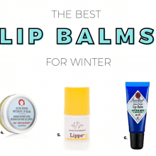 The Best Lip Balms for Winter {+ the one product I won't survive winter without!}
