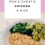 Poh's Cheat's Chicken & Rice Recipe