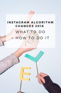 So Instagram changed {here's what to do about it}