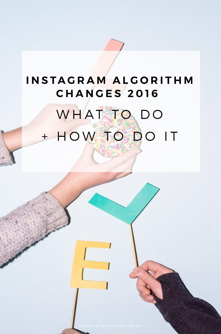In June 2016, Instagram changed it's algorithim. The way Instagram shows photos has changed. Here's three tips for surviving it, including what to do! Read more...
