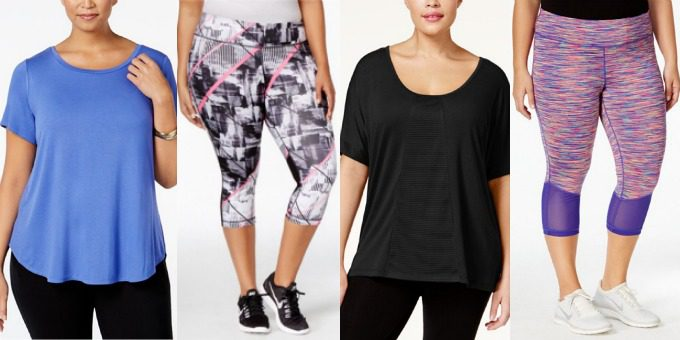 Plus Size Activewear | MACYS : Wondering where to buy beautiful plus size activewear? Wonder no more. This is where. All my favourite shops in one place.