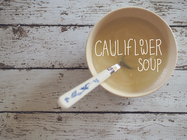 Delicious Cauiflower Soup