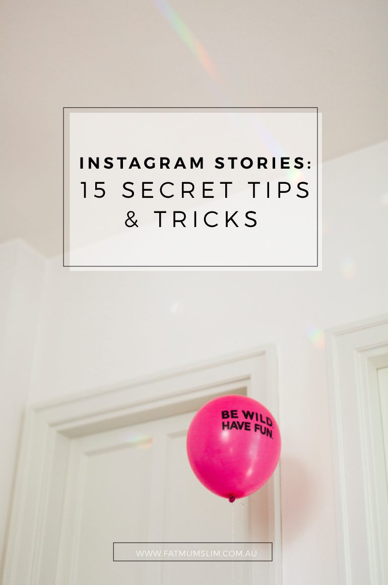 Discover the 15 secret tips and tricks for Instagram Stories that you probably didn't know about. I LOVE number 4!