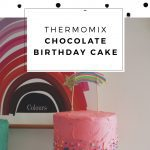 Easy Thermomix Chocolate Birthday Cake