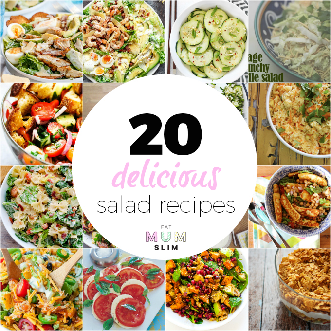 Sick of making the same old salad time and time again? Looking for salad inspiration? This is it. Jam-packed with delicious recipes you'll love to eat and feel great afterwards. Check it out here!
