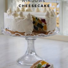 Cathedral Windows Cheesecake Recipe