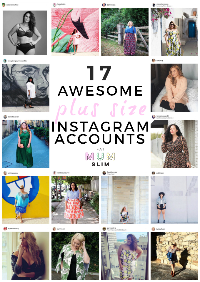 54f4573fe56 17 Plus-Size Instagram Accounts I m Loving  a lot!  Fat Mum Slim ...