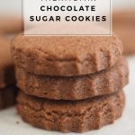 Lunchbox Treat: Thermomix Chocolate Sugar Cookies Recipe