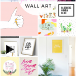 15 fun FREE printable wall art