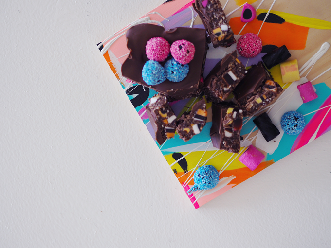 No Bake Licorice All-Sorts Slice Recipe
