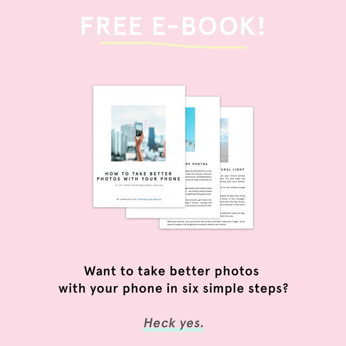 Take Better Photos With Your Phone : A Free E-Book