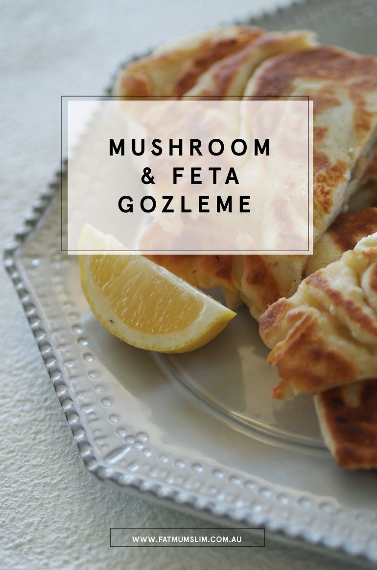 Mushroom and Feta Gozleme Recipe