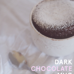 Dark Chocolate Mug Cake Recipe