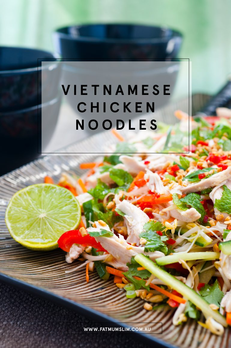 Vietnamese Chicken Noodles Recipe