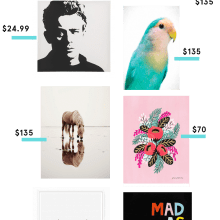 Affordable Art To Decorate Your Home {nothing over $150}