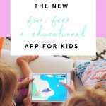 A fun & educational new app for kids