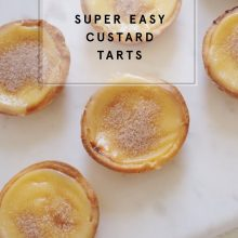 Super Easy Custard Tart Recipe