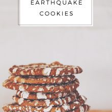 Chocolate Earthquake Cookies Recipe