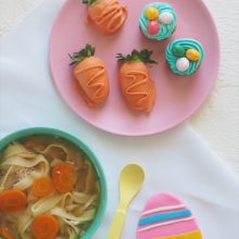 Quick Chicken Noodle Soup Recipe + Sweet Easter Ideas
