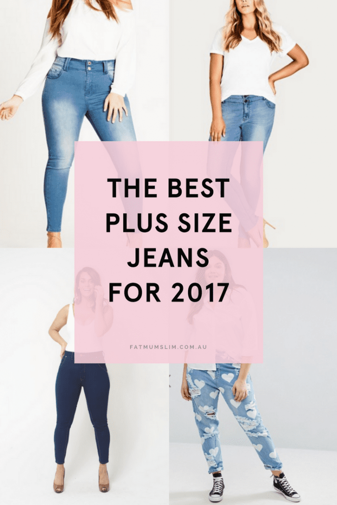 Yo, Curvy Ladies! The Best Plus Size Jeans For 2017