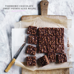 Thermomix Chocolate Sweet Potato Slice Recipe
