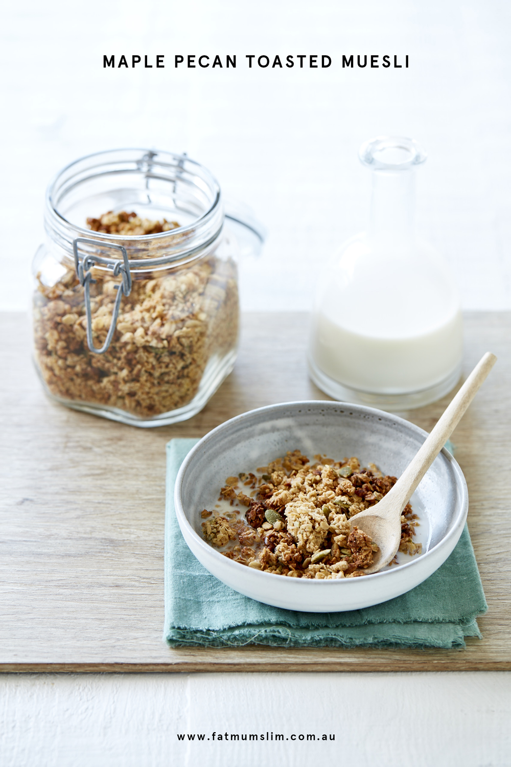 Thermomix Maple Pecan Toasted Muesli Recipe