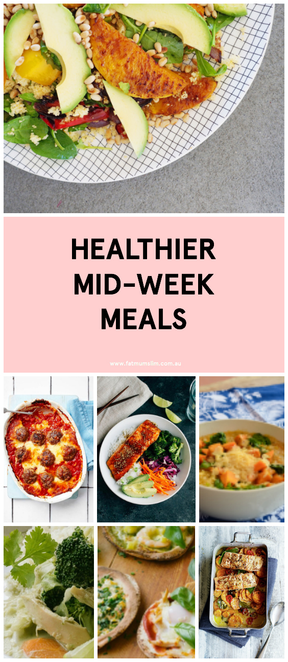 12 Healthier Mid-Week Meals To Keep On Rotation