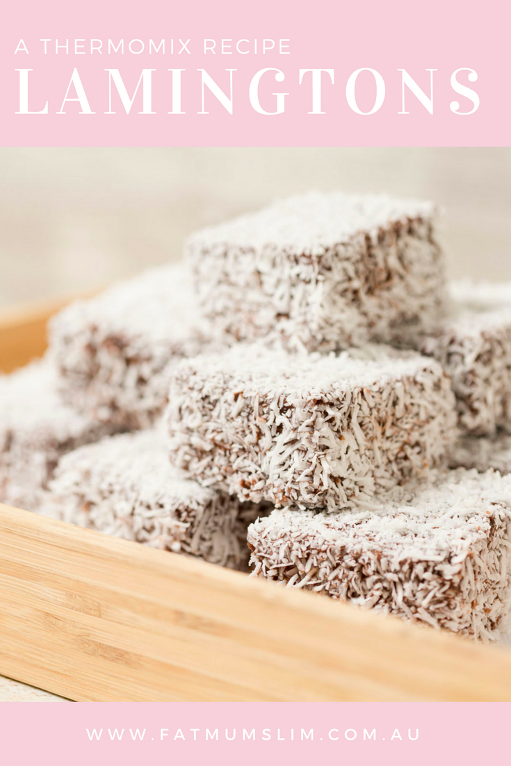 Thermomix Lamingtons Recipe