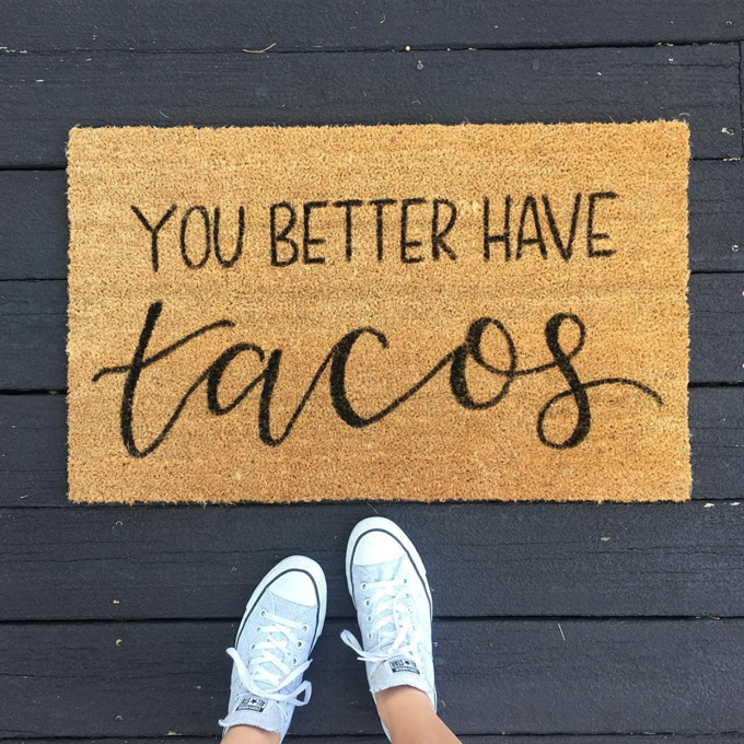 The Best Door Mats In Australia {cos First Impressions Count!}