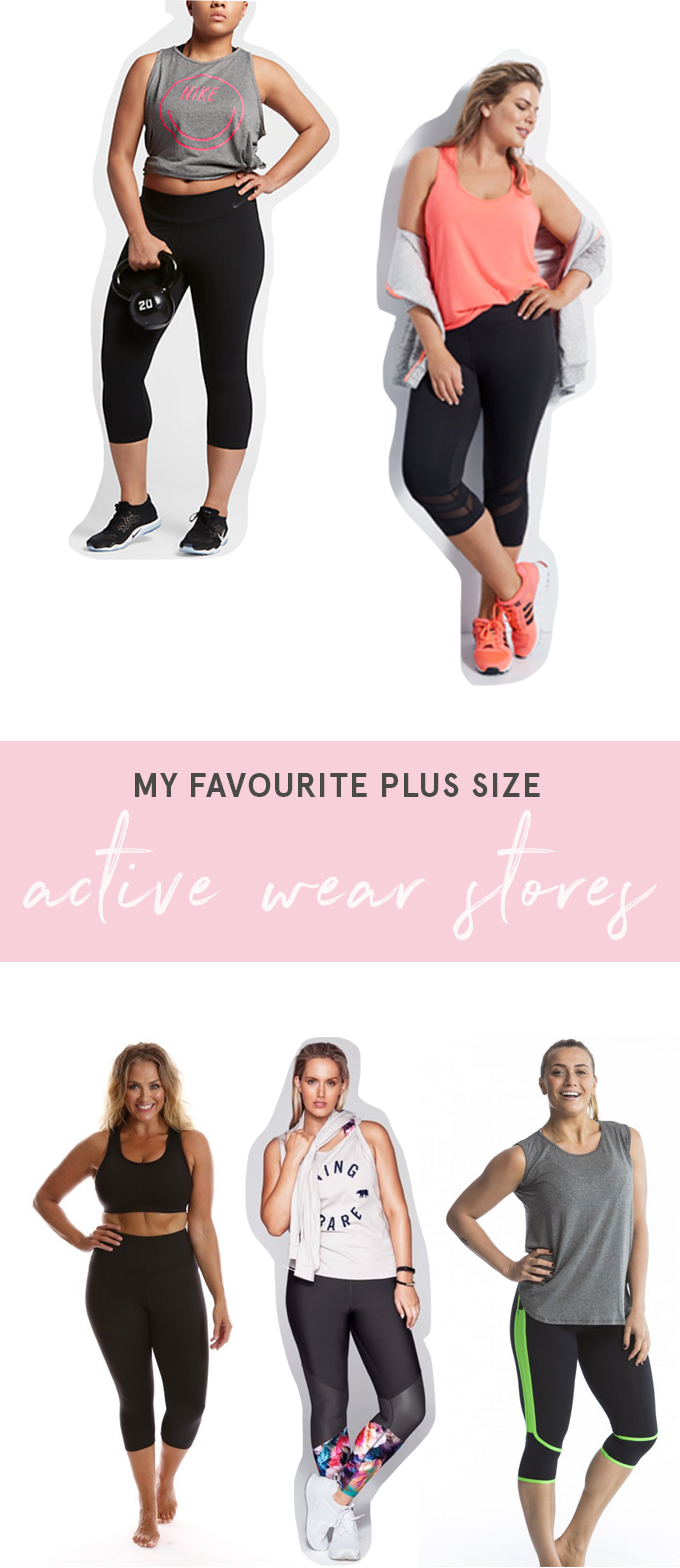34ace8a1692 My Favourite Plus Size Active Wear Stores. Fat Mum Slim ...