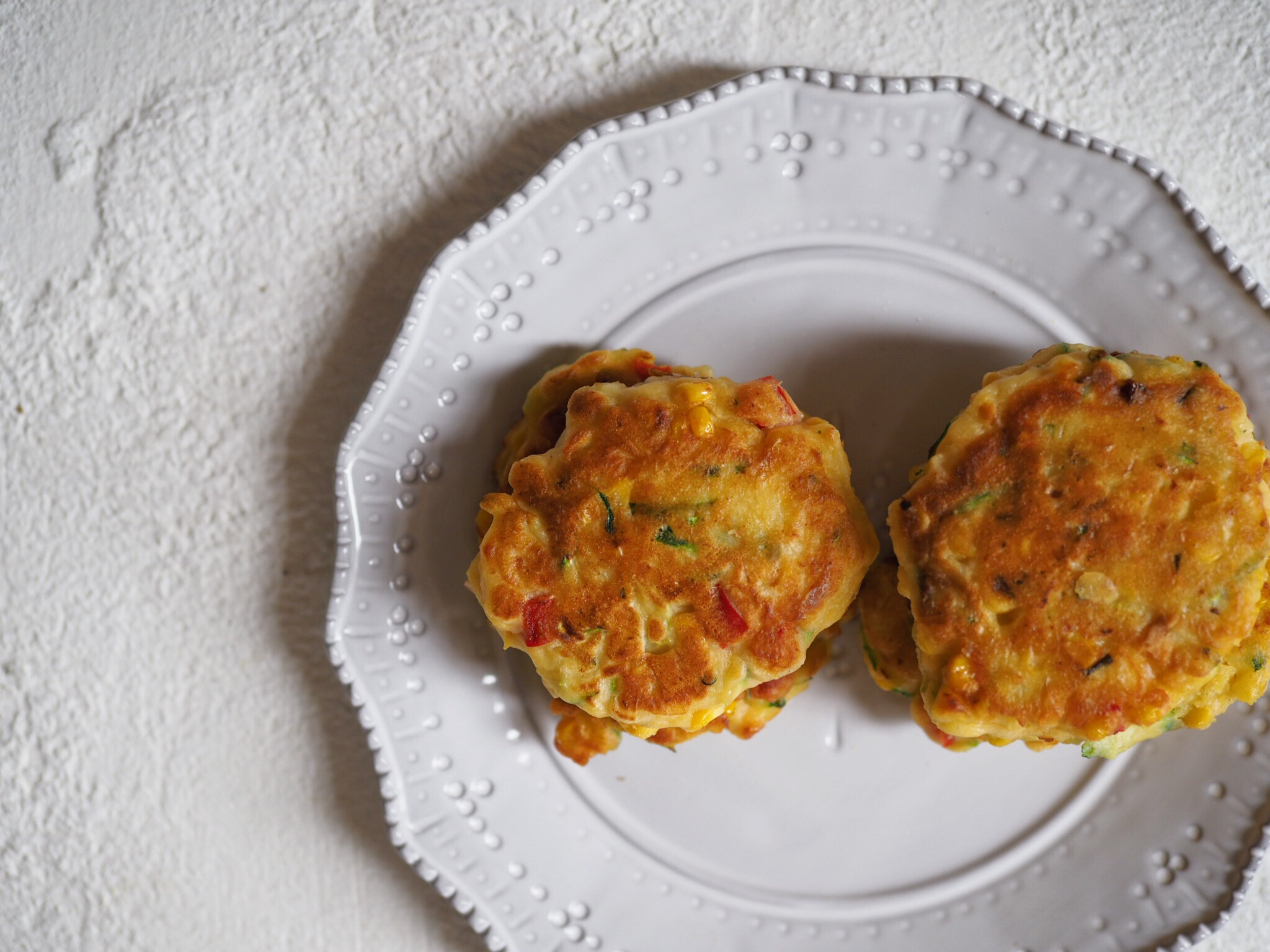Ricotta and Vegetable Fritters