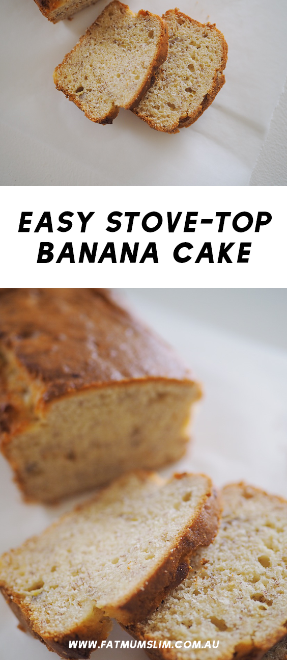 how to cook bananas on the stove